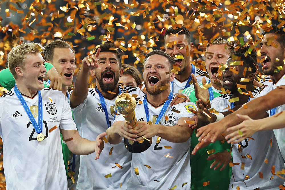 Alle Confed Cup Sieger