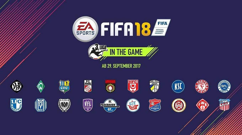 Fifa 18 3.Liga