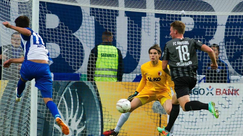 1 Fc Magdeburg Gegen Fc Augsburg Pokalsensation Die Zweite