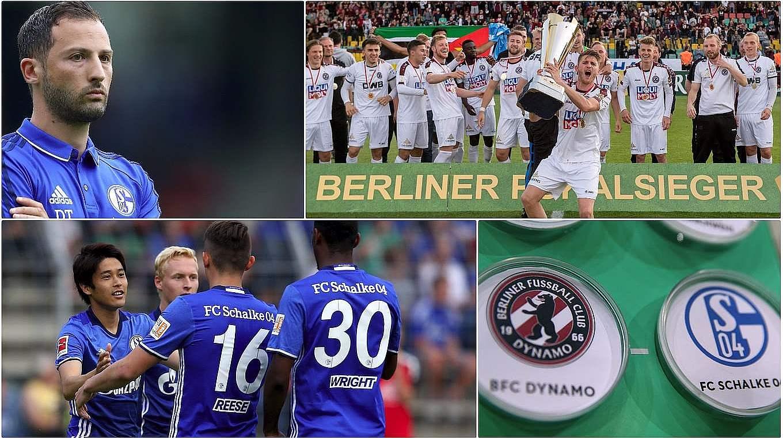 "News :: DFB - Deutscher Fußball-Bund e.V. BFC Dynamo vs. Schalke: ""We'll battle on every blade of grass on the pitch"" - 웹"