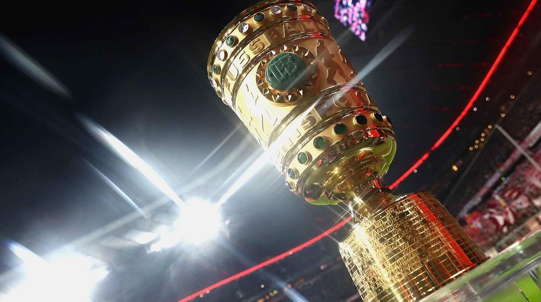 Semifinais na Copa DFB: os Jogos terão lugar nos dias 17 e 18 de abril de 2018 © 2017 Getty Images