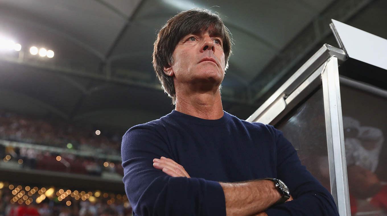"""Bundestrainer Löw: """"Nós passamos com sucesso esta qualificação"""" © 2017 Getty Images"""