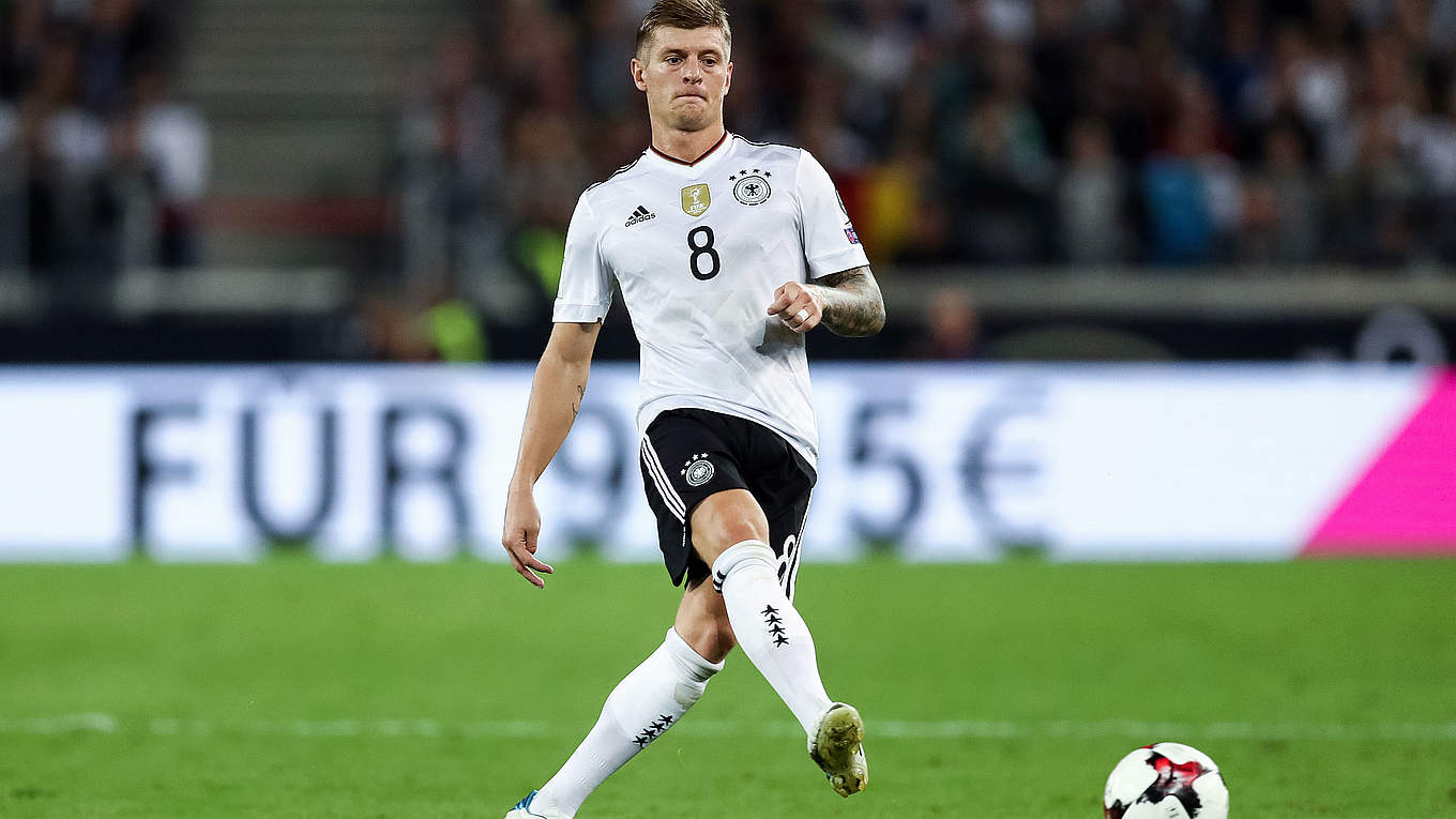 "Toni Kroos ""My achievements give me peace of mind"" DFB"