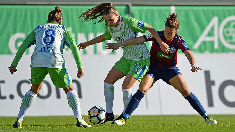Sechsmal frauen bundesliga live im tv dfb deutscher for Bundesliga live
