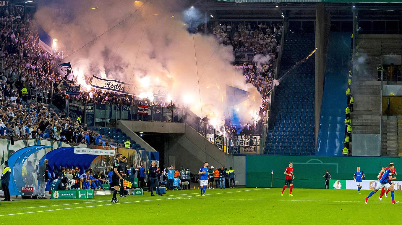 Hansa Gegen Hertha