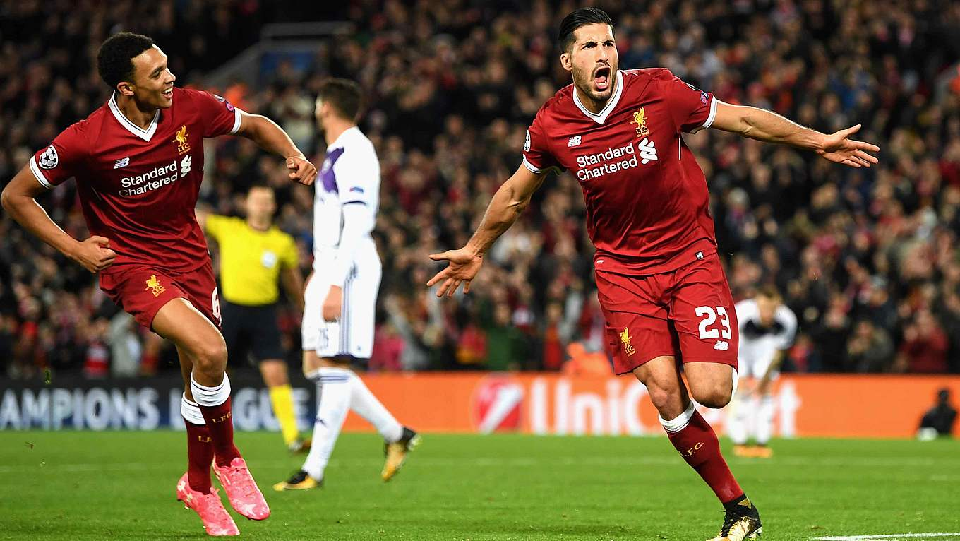 Emre Can S First Ucl Goal Leads Liverpool To Victory Dfb