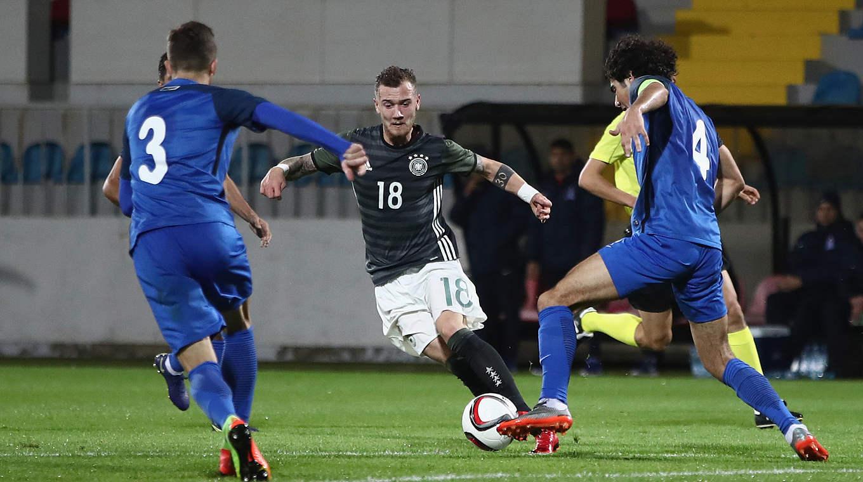Hartel Ist Spieler Des Aserbaidschan Spiels Dfb Deutscher Fussball Bund E V