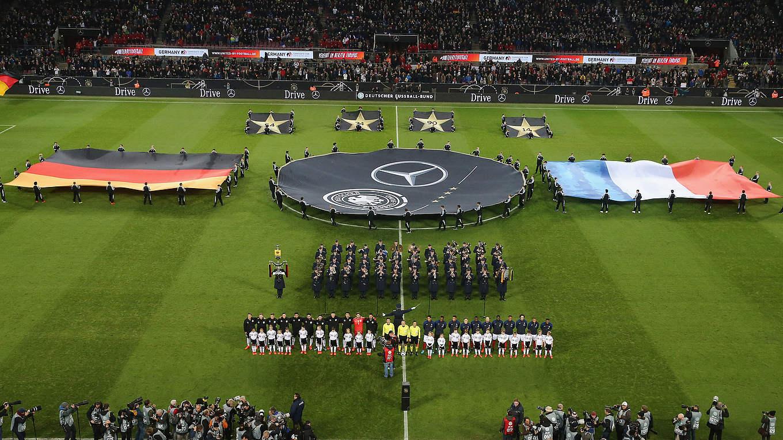 deutschland frankreich fuГџball