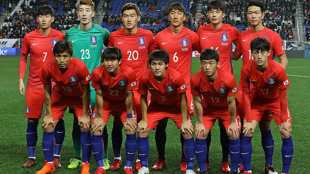 Südkorea Nationalmannschaft Kader