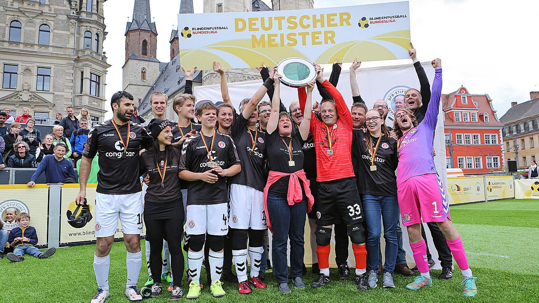 Blindenfussball Bundesliga Immer Wieder Inspirierendes