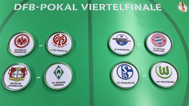 Sem sonhos para o SC Paderborn: a terceira divisão joga contra o Bayern de Munique © DFB