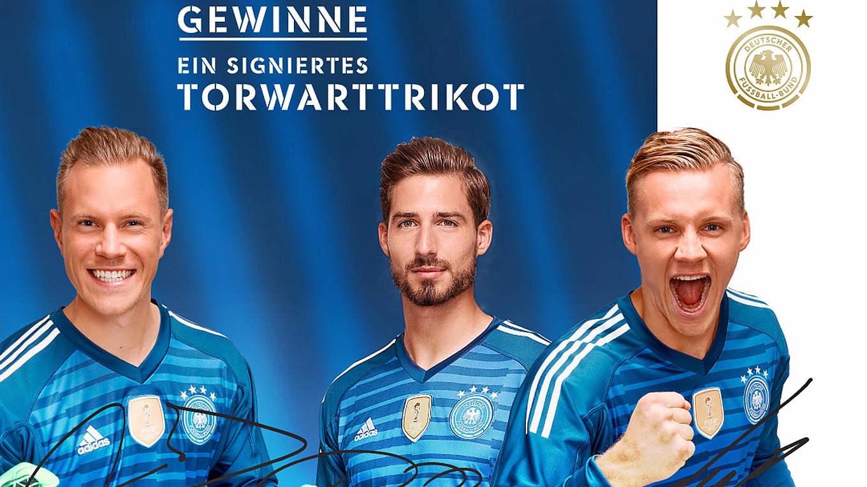 Gewinne ein signiertes Torwarttrikot :: DFB Deutscher