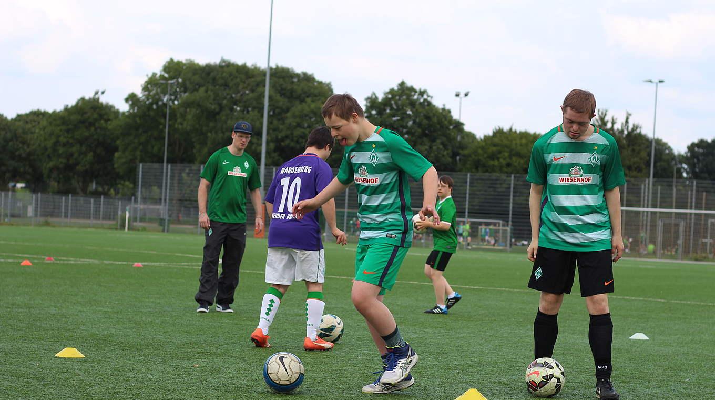 Fußballer kennenlernen