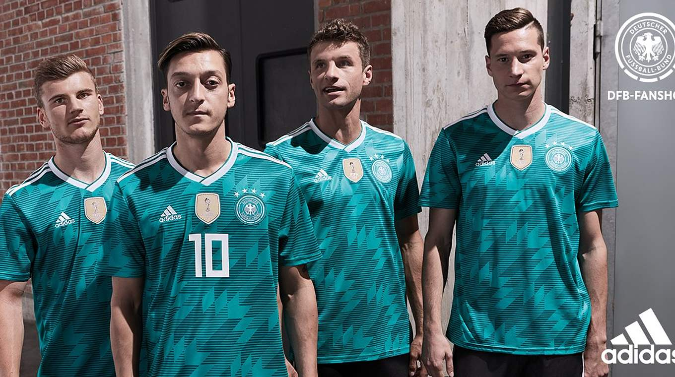 The new away kit: full of colour and full of history :: DFB