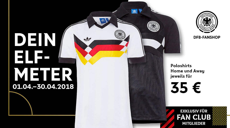 UK Verfügbarkeit Suche nach Beamten am besten einkaufen Artikel des Monats: Poloshirt im Retro-Look :: DFB ...
