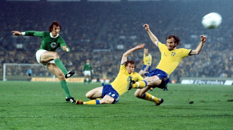 Wm 1974 Spektakel Gegen Schweden Dfb Deutscher Fussball