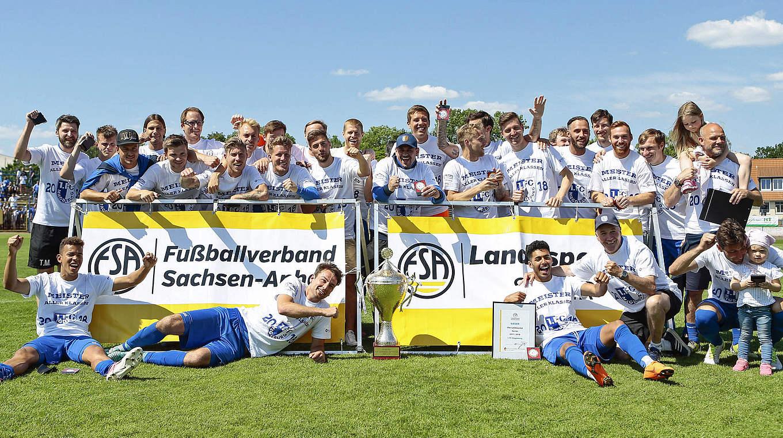 Landespokalsieger Sachsen Anhalt