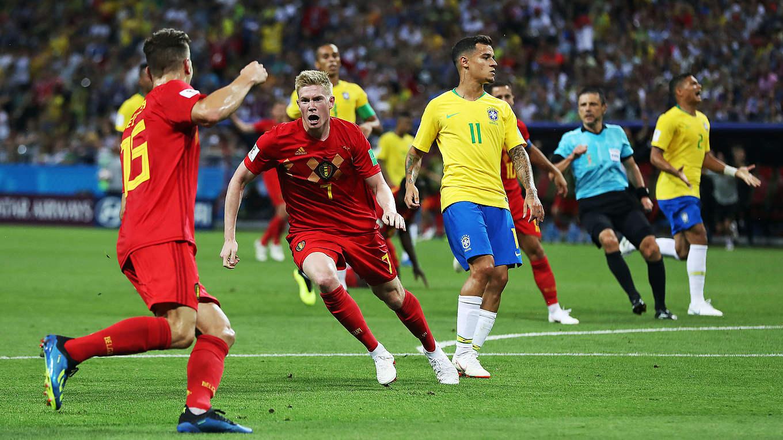 Belgien Brasilien Fußball