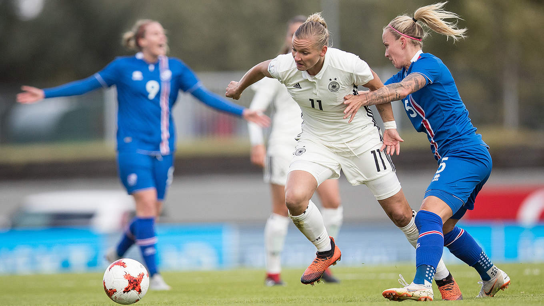2 0 In Island Dfb Frauen Machen Riesenschritt Richtung Wm