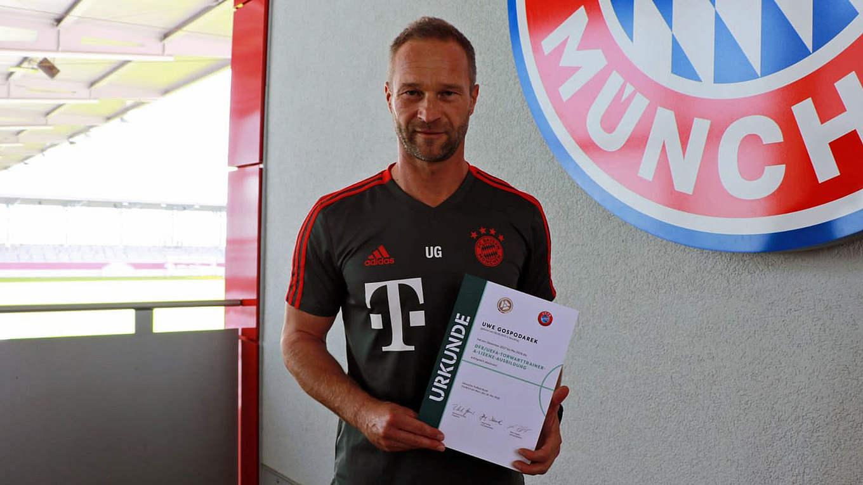 Torwarttrainer Bayern
