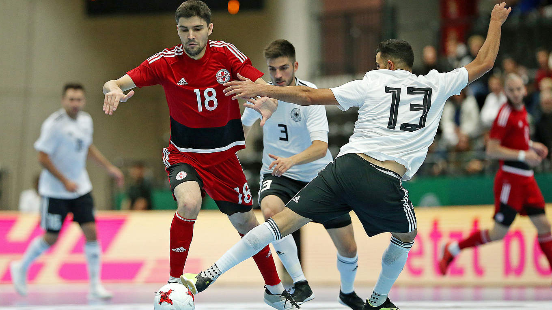 Video Futsalteam Unterliegt Georgien Dfb Deutscher Fußball