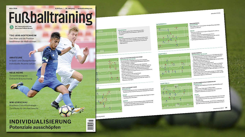 Fussballtraining Die Dfb Fachzeitschrift Fur Trainer Dfb