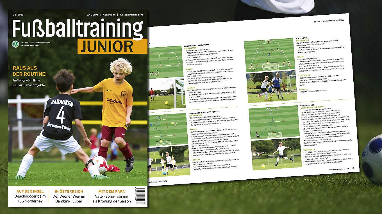 Fussballtraining Junior Die Dfb Fachzeitschrift Fur