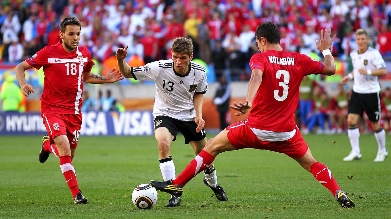Deutschland Serbien Wm 2010