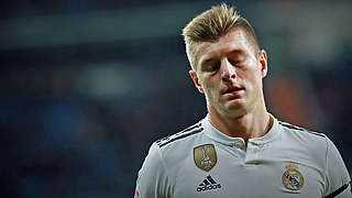 Muskelfaserriss zweiten Grades im linken Adduktorenbereich: Real-Ass Toni Kroos © Getty Images