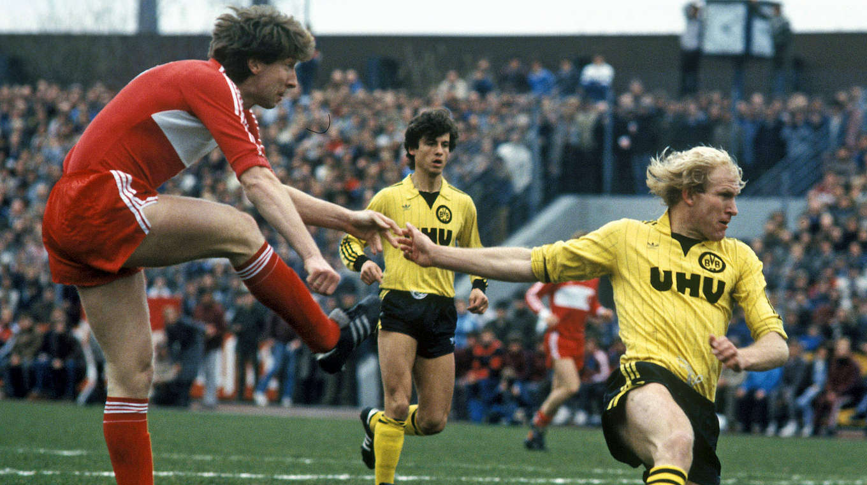 1 FC Köln Mannschaftskarte DFB Pokalsieger 1983