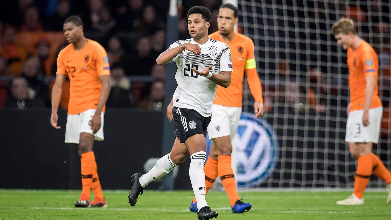 Serge Gnabry Es Ist Angerichtet Dfb Deutscher Fussball Bund E V