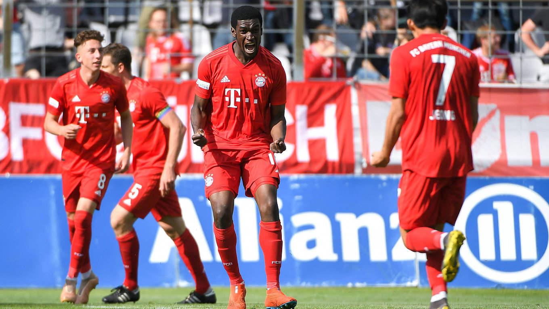 Bayern Munchen Ii Zuruck In Der 3 Liga Dfb Deutscher