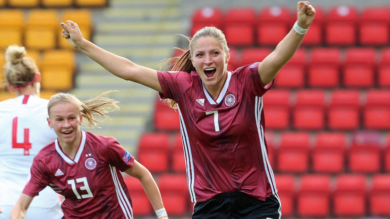 Em Auftakt U 19 Frauen Starten Mit Sieg Gegen England