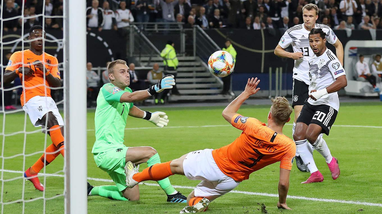 Video Dfb Team Verliert Gegen Niederlande Dfb