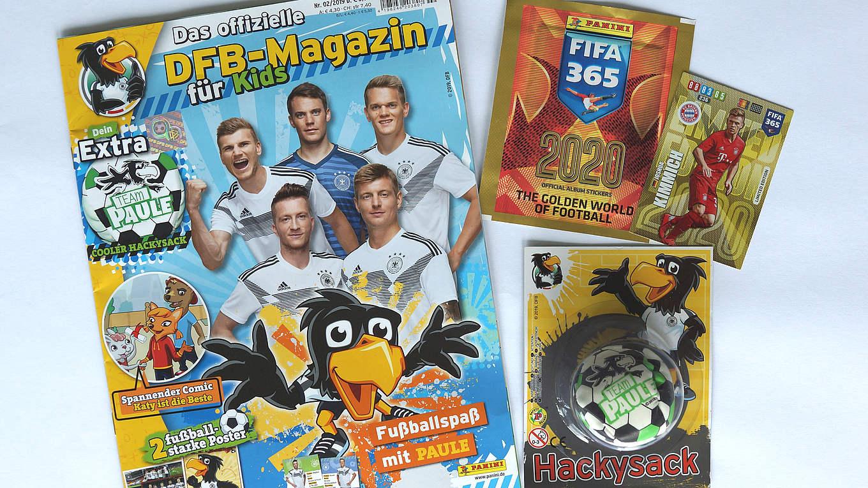 ab sofort im handel das offizielle dfbmagazin für kids