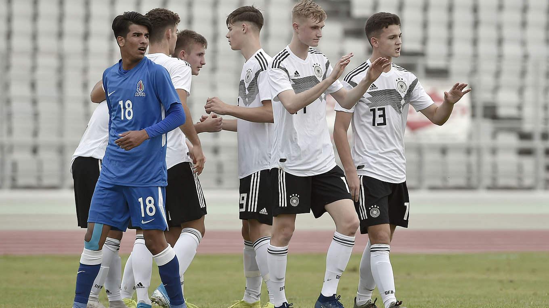 Em Quali U 17 Erreicht Nachste Runde Dfb Deutscher Fussball Bund E V
