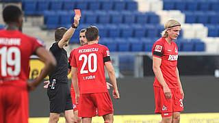 Zwei Spiele Sperre für Kölns Bornauw