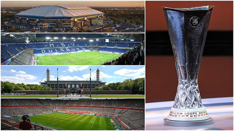 uefa europa league 2019 20 final rounds to be held in germany dfb deutscher fussball bund e v uefa europa league 2019 20 final