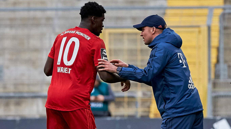 """""""Spieler und Trainer der Saison"""": Kwasi Okyere Wriedt (l.) und Sebastian Hoeneß © imago images/Eibner"""