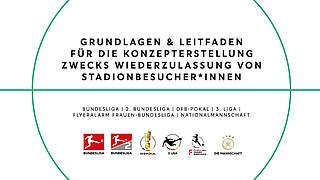 Rückkehr von Zuschauern: Leitfaden von DFB und DFL
