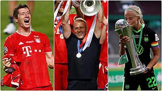 Fußballer des Jahres: Ehrungen für Lewandowski, Flick und Harder