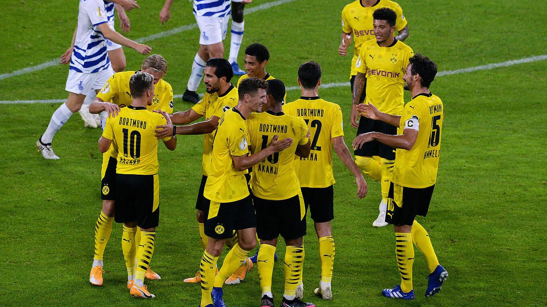 bvb dominiert in duisburg  dfb  deutscher fußballbund ev