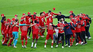 DFB gratuliert Bayern zur Meisterschaft: