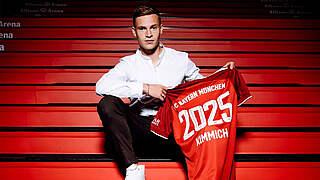 Kimmich verlängert Vertrag beim FC Bayern