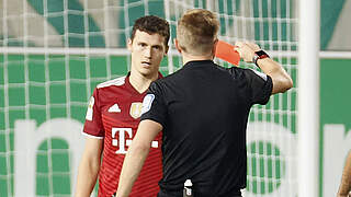 Zwei Spiele Sperre für Bayerns Pavard