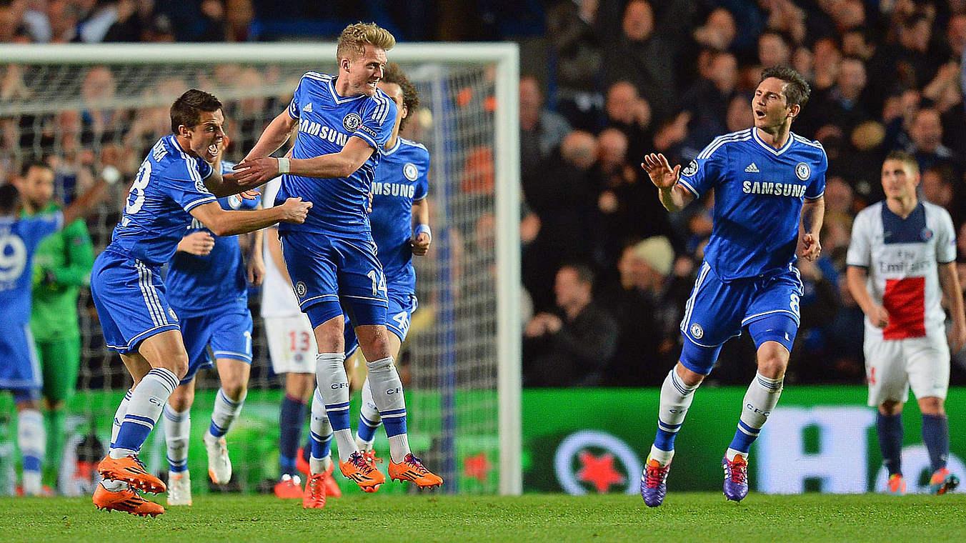 2 0 Gegen Paris Sch U00fcrrle F U00fchrt Chelsea Ins Halbfinale