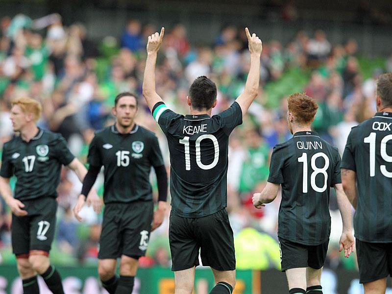 Irland Gegen Georgien