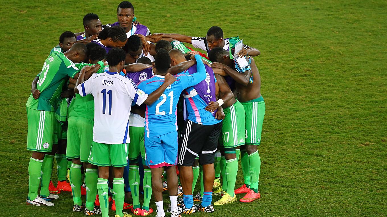 Nigeria Mannschaft