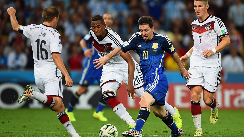 Bester WM-Spieler: Goldener Ball für Messi - Silber für ...