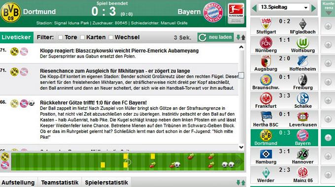 Dfb De Liveticker Jetzt Noch Mehr Features Dfb Deutscher